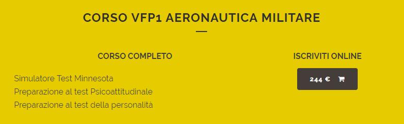VFP1, Aeronautica Militare, Corsi di preparazione ai concorsi