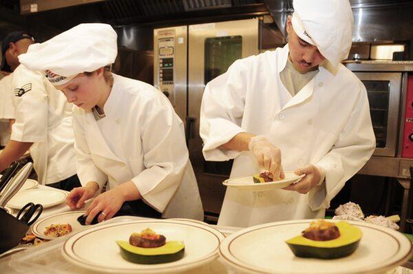 corso per chef, lavorare in cucina