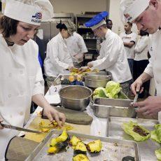 imparare il mestiere di chef