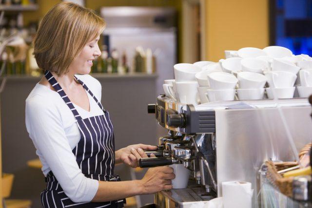 barista, caffettiere