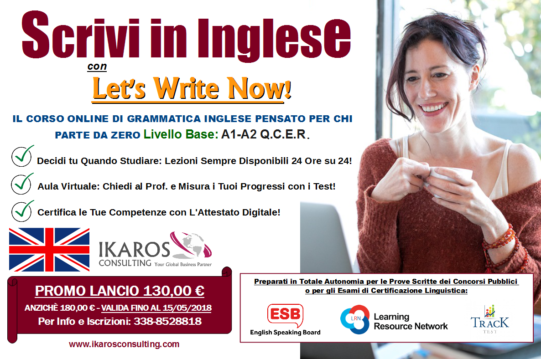 inglese per principianti, offerte corsi di lingua inglese, inglese low cost, corsi online inglese