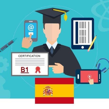 Certificazione di Competenza in Lingua Spagnola Livello B1 C.E.F.R.